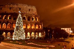 Il Colosseo a Natale