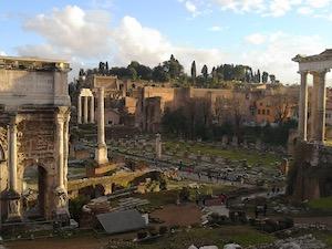 Il Colosseo dal Palatino