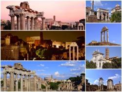 Galerie zdjęć Forum Romanum i Palatin