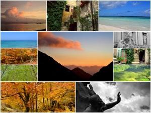 나에 의해 만들어진 모든 사진은 여러 사진 갤러리로 구성되었습니다.