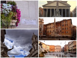 Photo gallery of Piazza Navona and the Pantheon