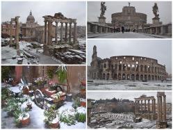 Fotografie della grande nevicata del febbraio 2012