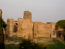 Virtual visit of The Caracalla's Baths